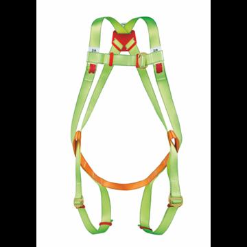 Arnés anticaidas enganche dorsal y frantal