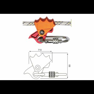 Bloqueador para cuerda de posicion para cuerdas de 9-12Ø mm.