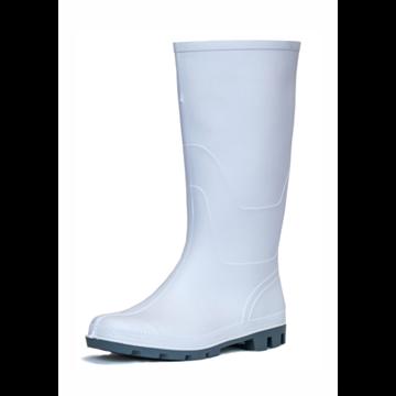 Bota de blanca con suela gris sin protección