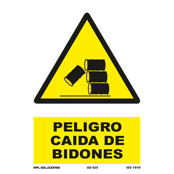 Señal: Peligro material combustible