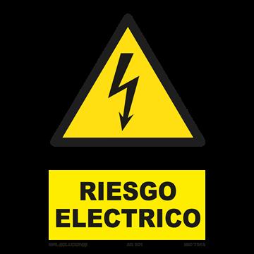 Señal: Riesgo electrico