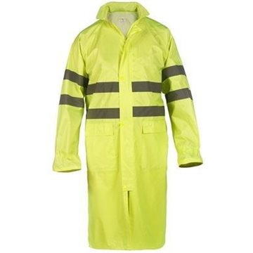 Gabardina de agua ingeniero Alta Visibilidad amarillo