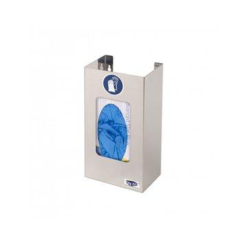 Dispensador inox para guantes para 1 caja