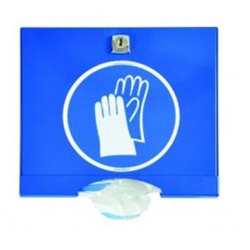 Dispensador lacado para guantes PE con cerrojo