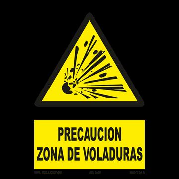 Señal: Peligro zona de carga y descarga