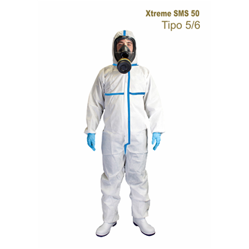 Mono Xtreme SMS 50 - Costuras selladas - TIPO 5/6