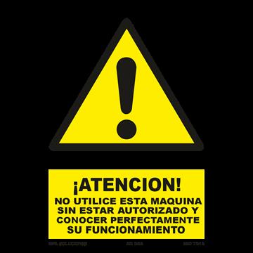 Señal: Atencion a pies y manos