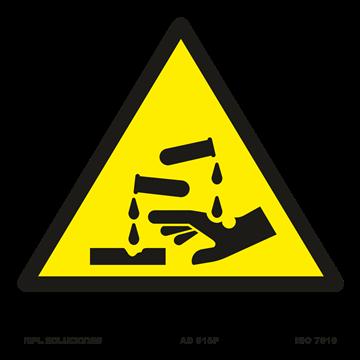 Señal: Riesgo de corrosion