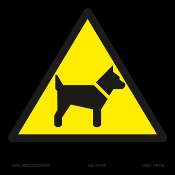 Señal: ¡Peligro! Perros