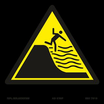 Señal: Peligro aguas profundas
