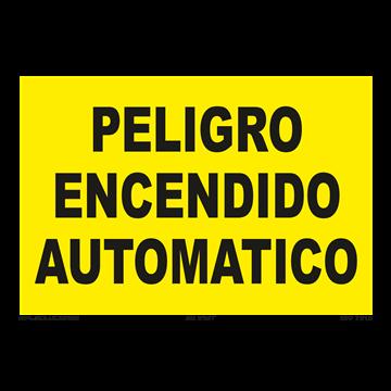 Señal: Peligro encendido automatico
