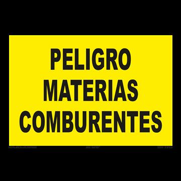 Señal: Peligro materias comburentes