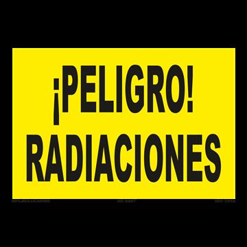 Señal: Peligro radiaciones