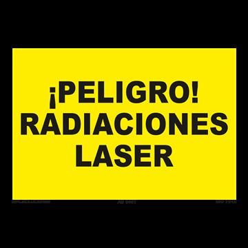 Señal: ¡Peligro! Radiaciones laser