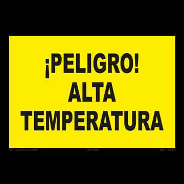 Señal: ¡Peligro! Alta temperatura