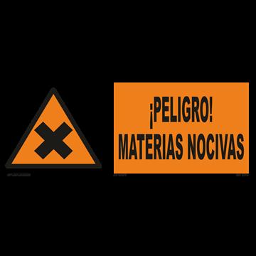 Señal: ¡Peligro! Materias nocivas