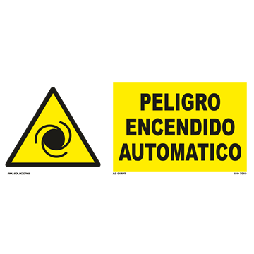 Señal: ¡Peligro! Area de ruido peligroso