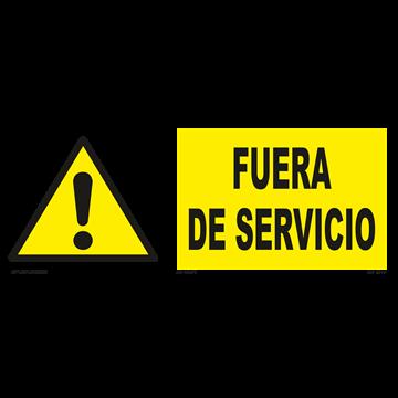 Señal: Fuera de servicio