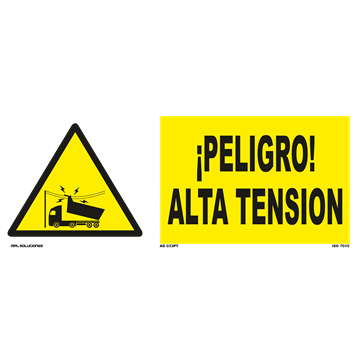 Señal: Peligro alta tension