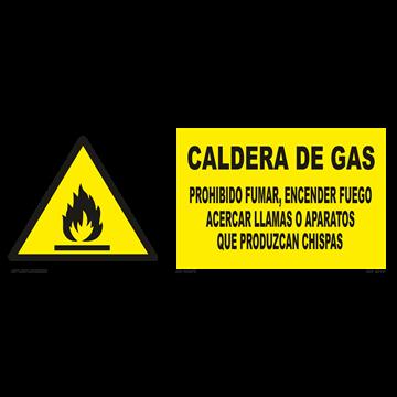 Señal: Caldera de gas