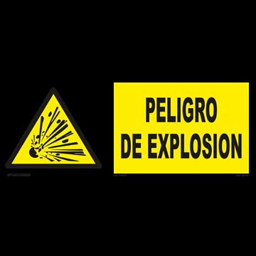Señal: Peligro de explosion