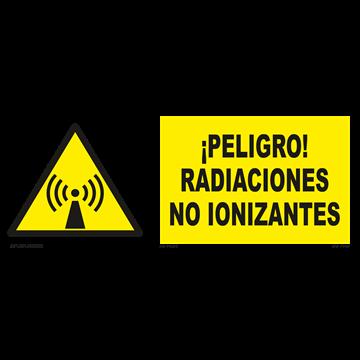 Señal: ¡Peligro! Radiaciones no ionizantes