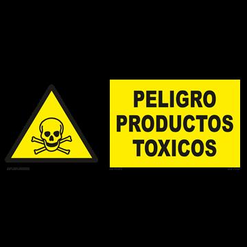 Señal: Peligro productos toxicos