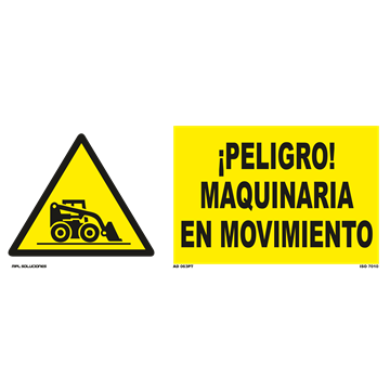 Señal: Precaucion zona de voladuras