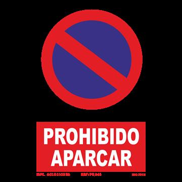 Señal: Prohibido aparcar