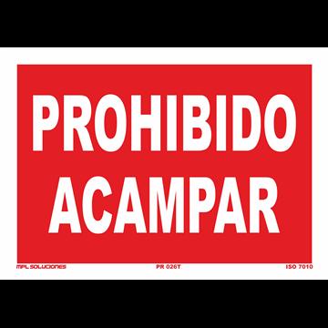 Señal: Prohibido apagar con agua
