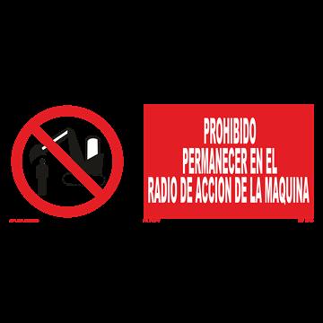 Señal: Prohibido utilizar el ascenso en caso de incendio
