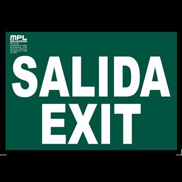 Señal: Salida / Exit