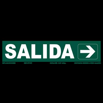 Señal: SALIDA CON FLECHA DER. (ESTRECHA)