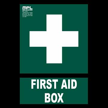 Señal: FIRST AID BOX