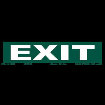 Señal: EXIT (ESTRECHA)