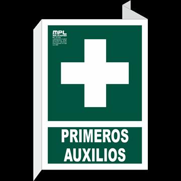 Banderola: Primeros auxilios