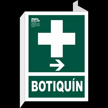 Banderola: Botiquin derecha