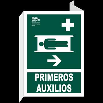 Banderola: Primeros auxilios derecha