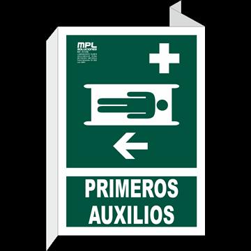 Banderola: Primeros auxilios izquierda