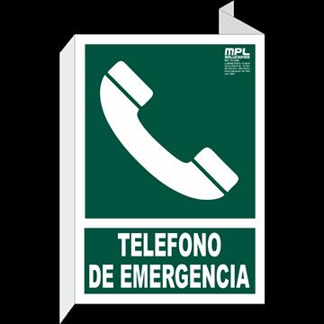 Banderola: TELÉFONO