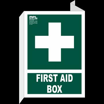 Banderola: FIRST AID BOX