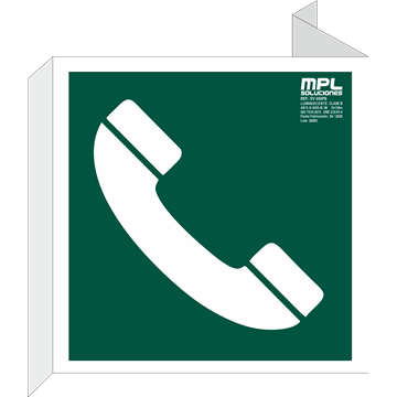 Banderola Cuadrada: TELÉFONO
