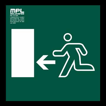 Señal: Salida izquierda