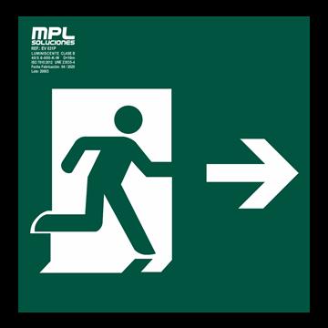 Señal: Salida derecha