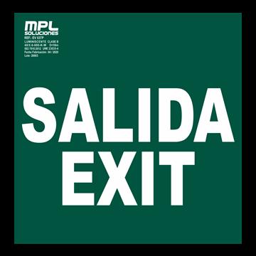 Señal: Salida, Exit