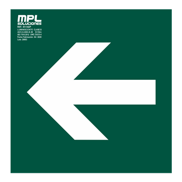 Señal: Flecha izquierda